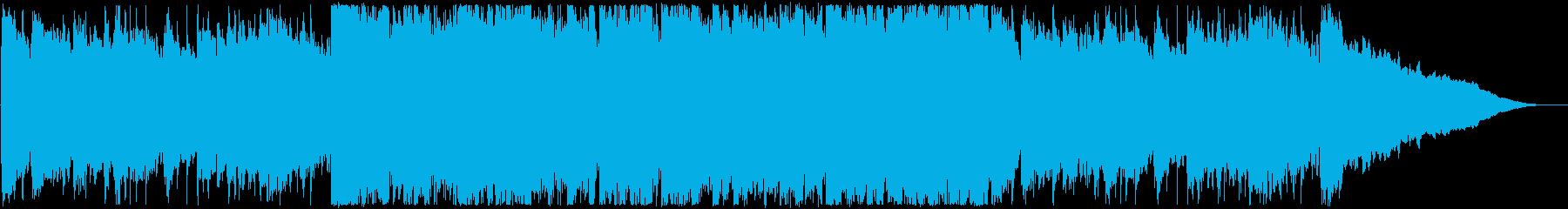 CM・優しいポップスの再生済みの波形