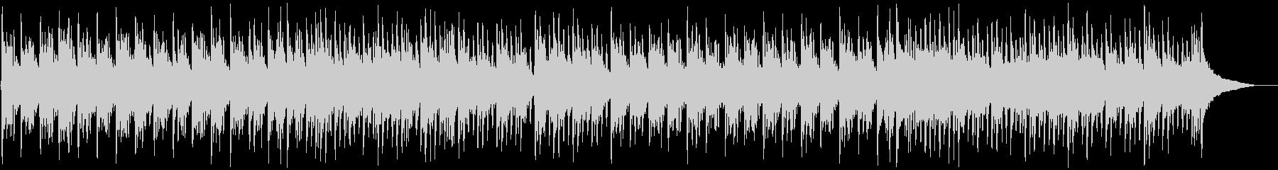伝統的和風琴と低音ダンスビートミックスの未再生の波形