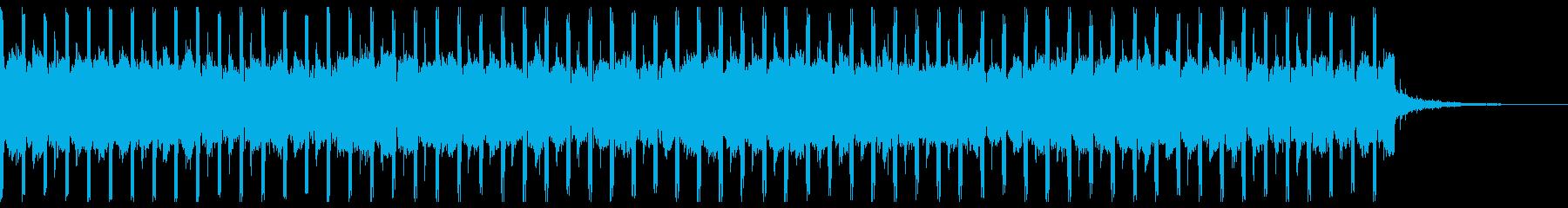 コマーシャル(短)の再生済みの波形