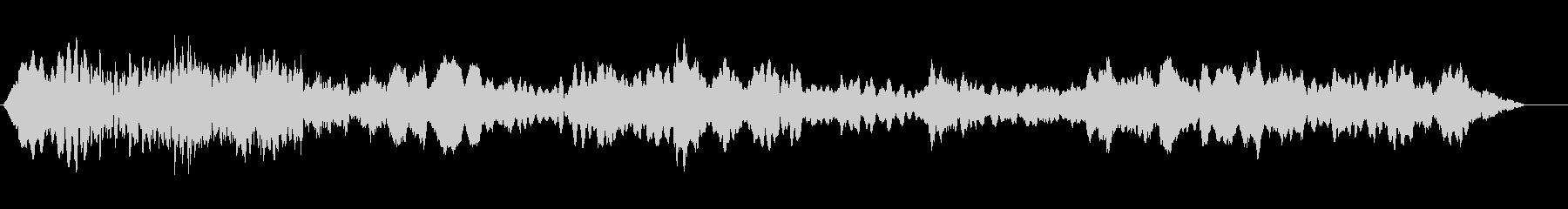 ローエンドハムとベッドゴーストリーハウルの未再生の波形