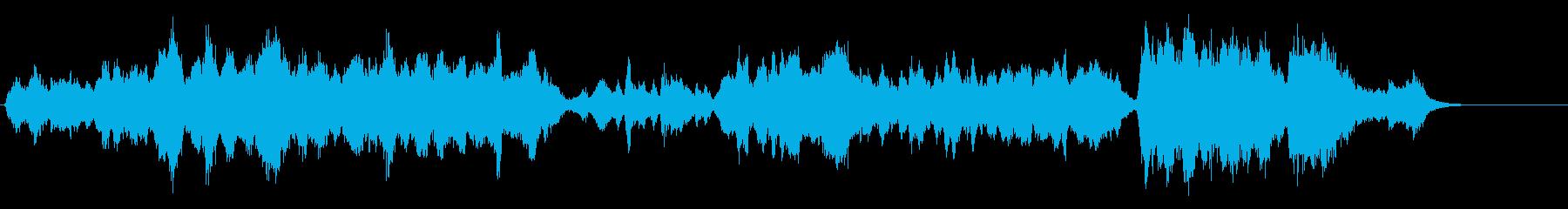 軽やかなクラシック曲 『ピーターと狼』の再生済みの波形