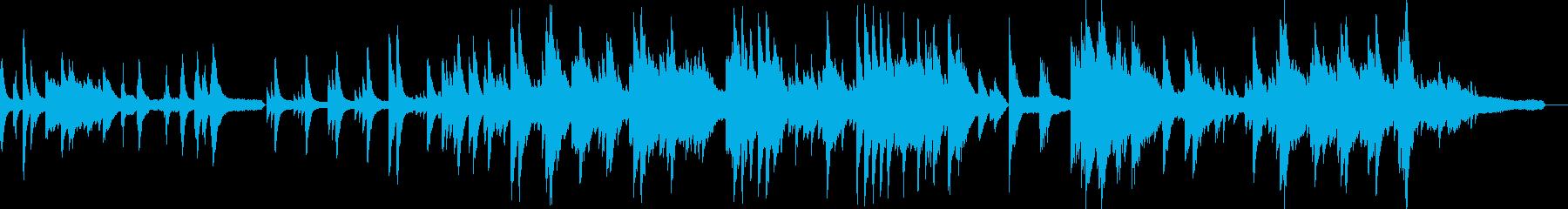 感動的で優しいソロピアノ ラブバラードの再生済みの波形