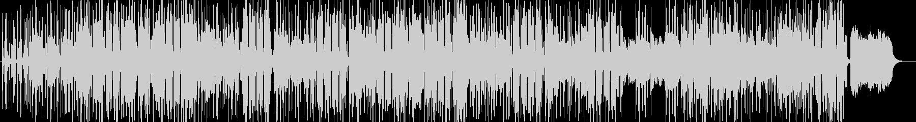 ヒップホップ版ハレルヤ ラップの未再生の波形