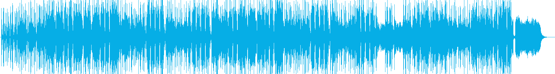 ヒップホップ版ハレルヤ ラップの再生済みの波形