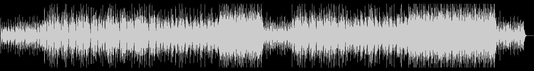 和風味の琴がメロディを奏でるロックBGMの未再生の波形