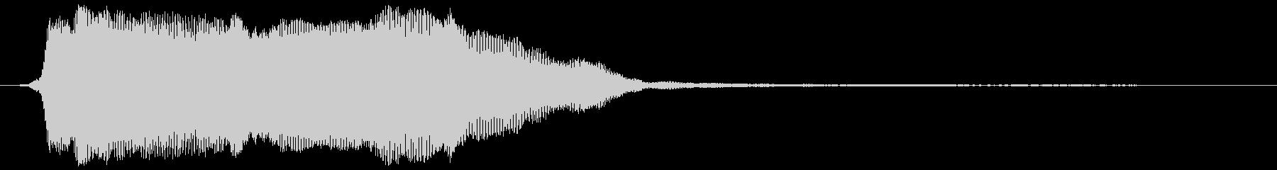 金属が軋む効果音 02の未再生の波形
