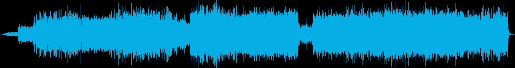 デジタルハードロックチューンの再生済みの波形
