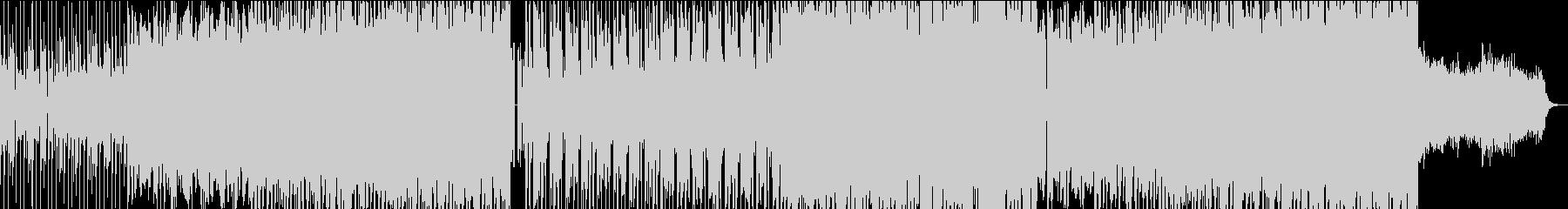 ラフで神秘的なレトロゲーム風サウンドの未再生の波形