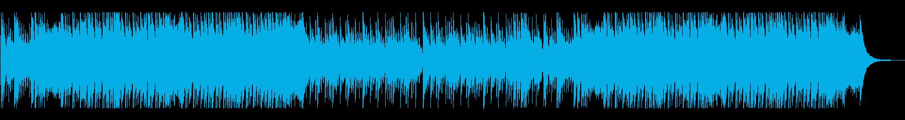 熱く激しい、スピード感溢れる和風ロック!の再生済みの波形