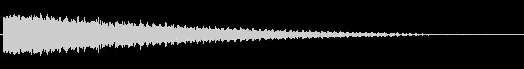 素材 スティンガーハム03の未再生の波形