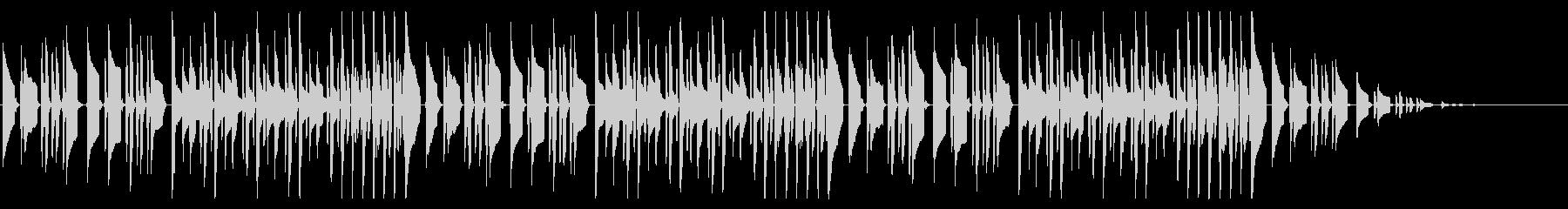 アイネクライネナハトムジーク脱力アレンジの未再生の波形