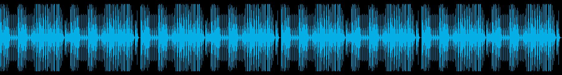 ほのぼの 日常 配信 カリンバの再生済みの波形