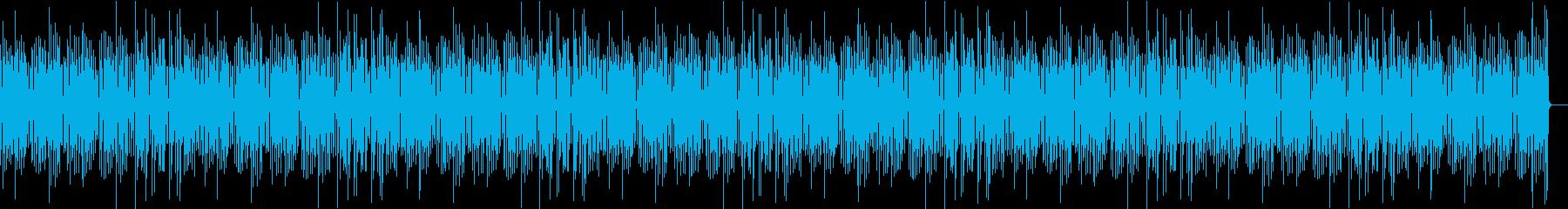おしゃれで可愛いラグタイムピアノの再生済みの波形