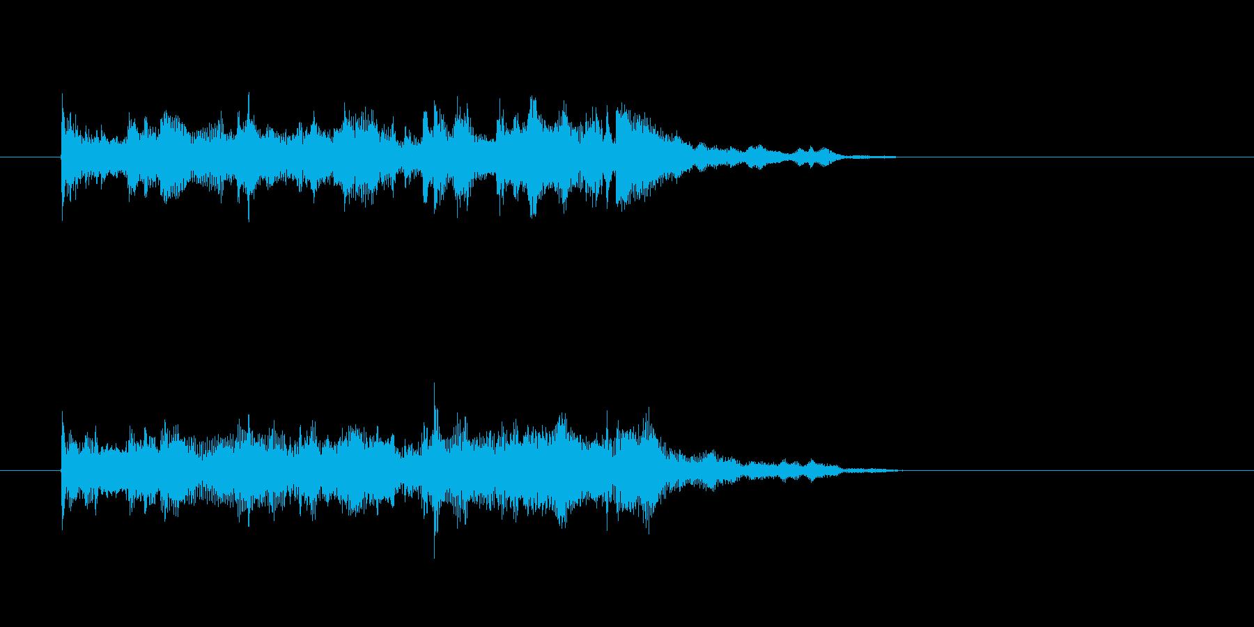 ヴィブラフォン 鉄琴 ジャズ 大人の再生済みの波形