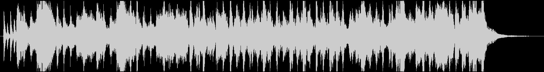 クイズ出題中BGMの未再生の波形