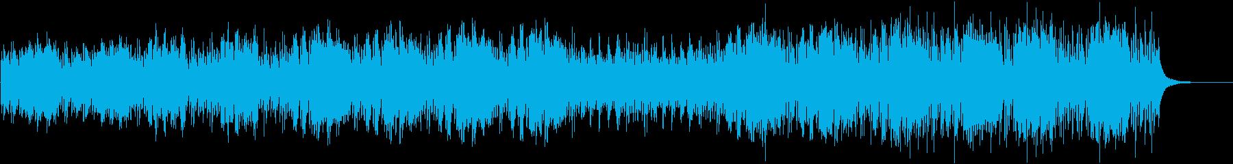 かわいくて少しコミカルなオーケストラの再生済みの波形