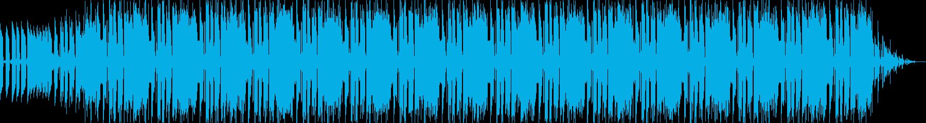 EDM系BGM1の再生済みの波形