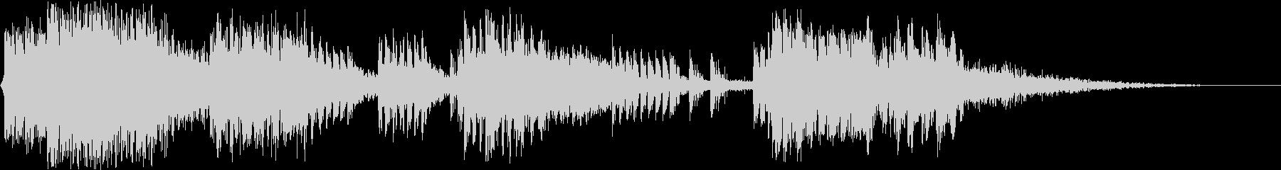 マシンガンバトル:ヘビーガンファイアの未再生の波形