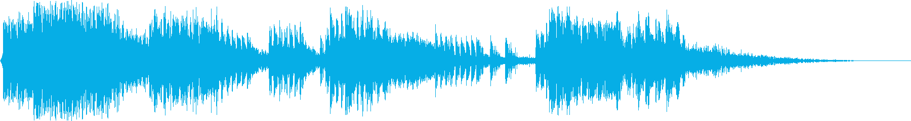 マシンガンバトル:ヘビーガンファイアの再生済みの波形