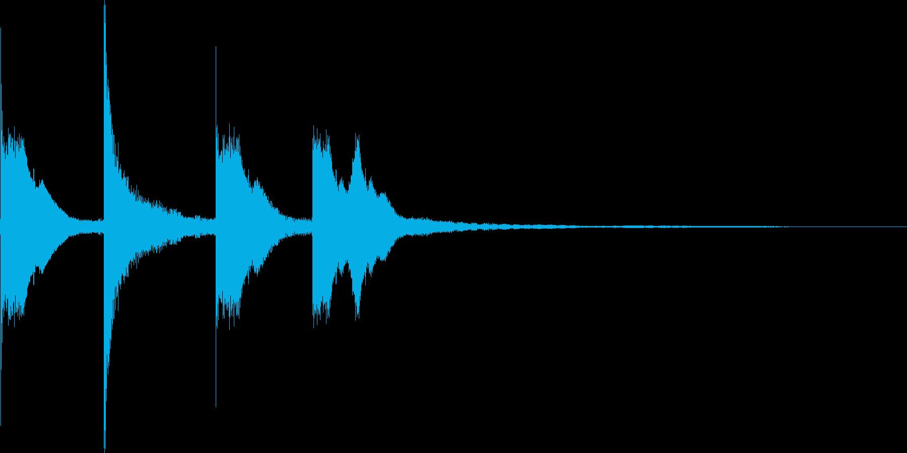 ピコピコンの再生済みの波形
