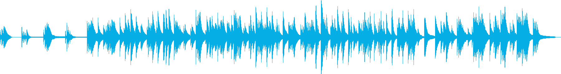 不気味な音色の切ないピアノソロの再生済みの波形