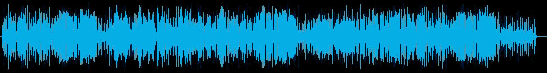 軽やかなバイオリンフルート系サウンドの再生済みの波形