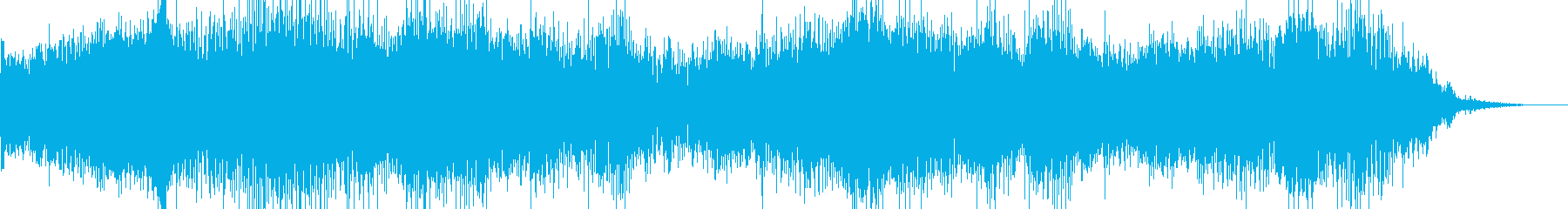 サスペンス系効果音ですの再生済みの波形
