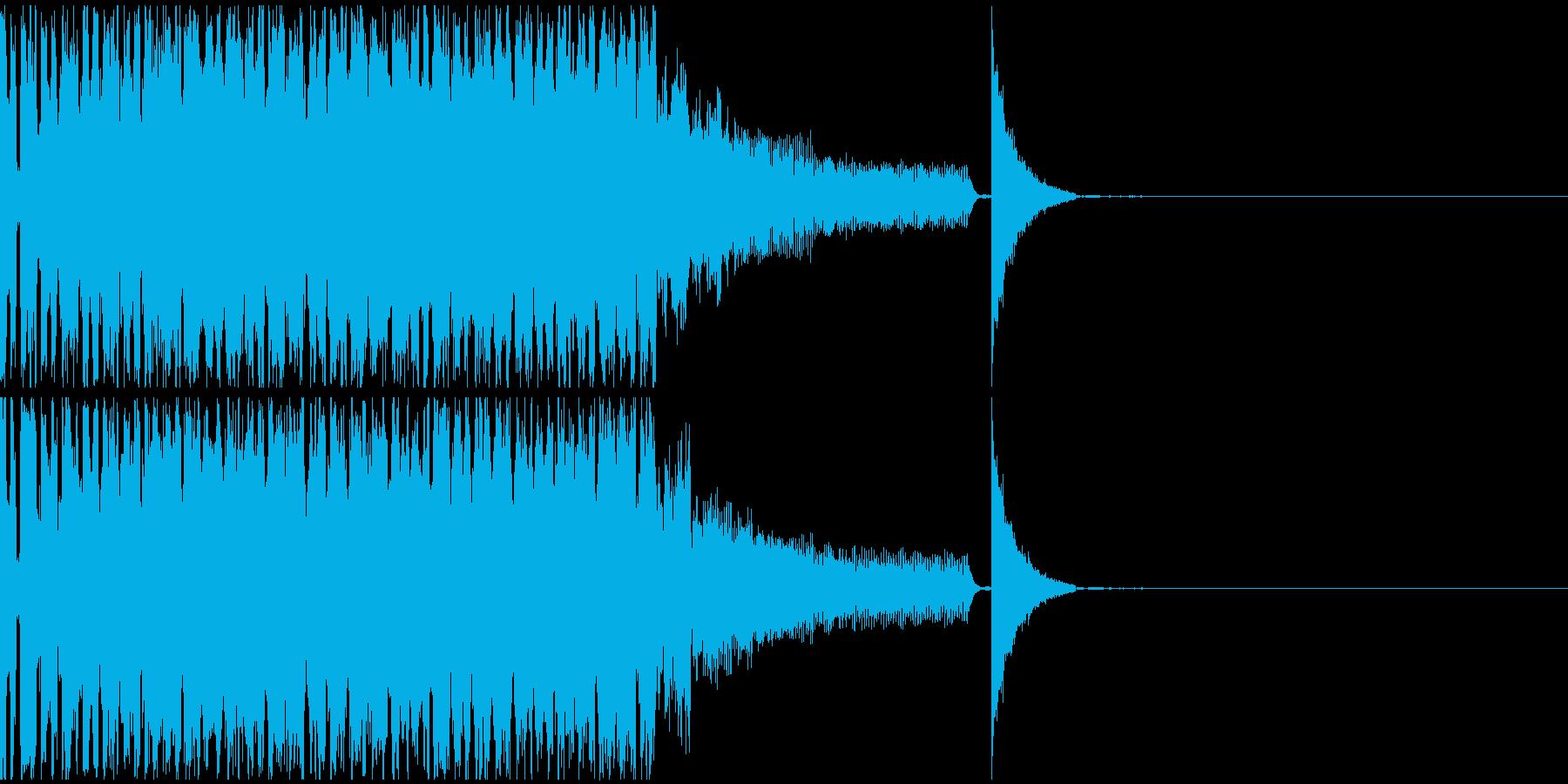 【EDM】クラブダンスミュージック8の再生済みの波形