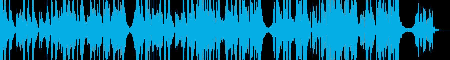 異空間に迷い込んだようなエレクトロニカの再生済みの波形