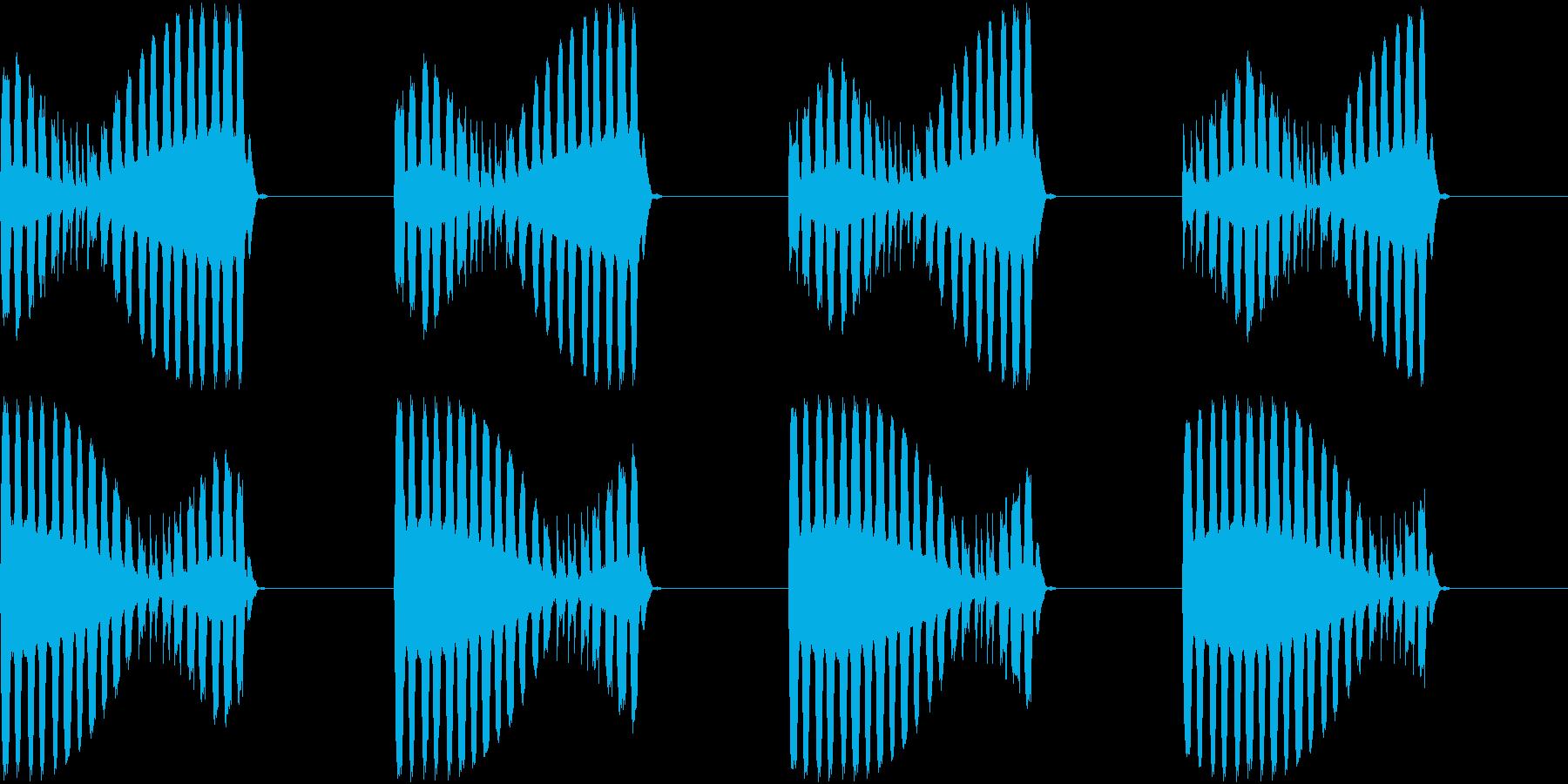 アラーム 電話 未来的 宇宙船 ブザーの再生済みの波形