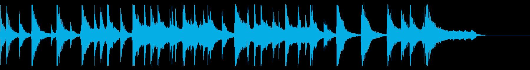 出囃子アレンジの「ほたるこい」の再生済みの波形