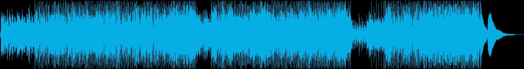 疾走感のあるピアノJazzロックの再生済みの波形
