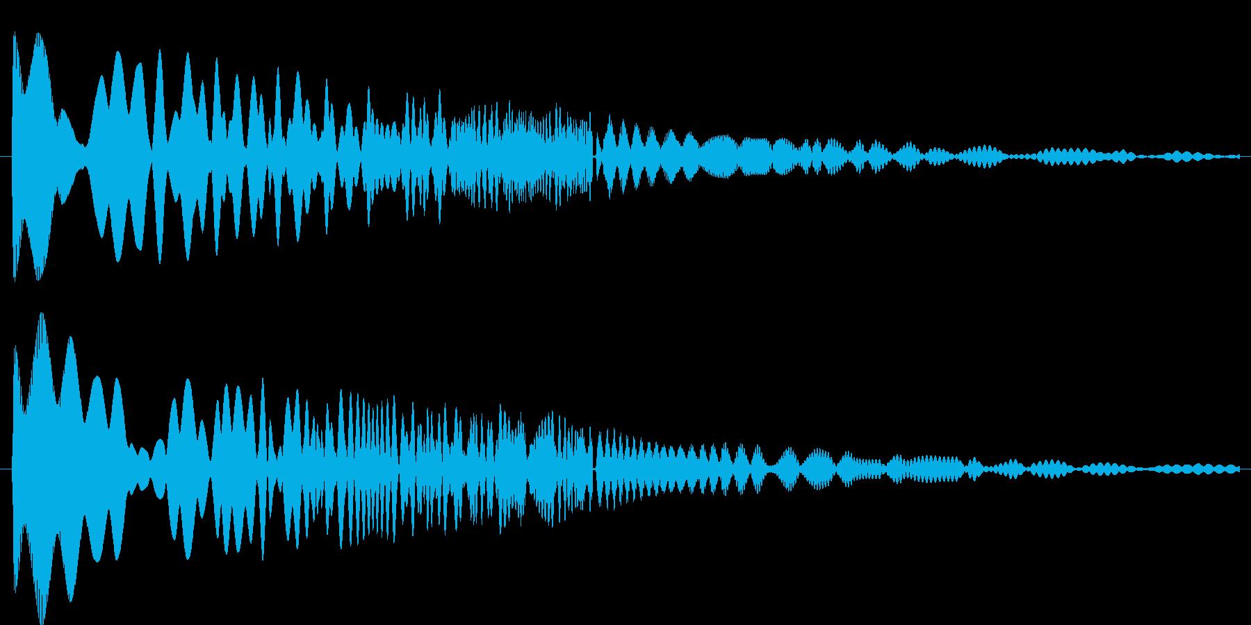 ぴよぴよピューン(ギャグ系)の再生済みの波形