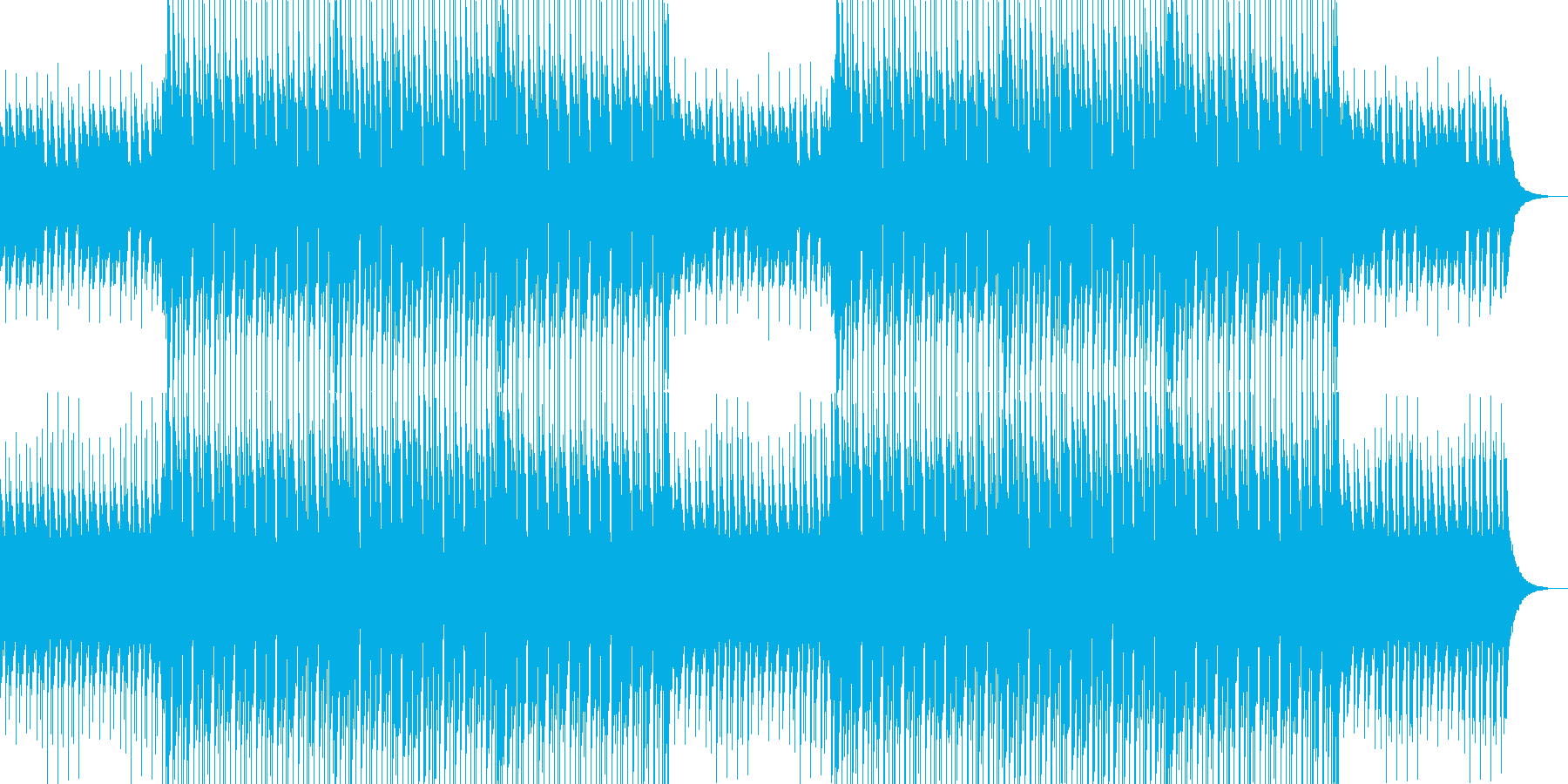 CMや映像に、ハッピーなウクレレ、ポップの再生済みの波形