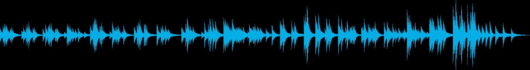 心温まるピアノバラード(BGM・優しい)の再生済みの波形