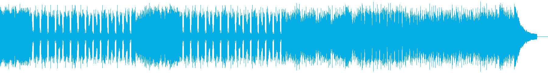 カントリー風ロックギター01Fの再生済みの波形