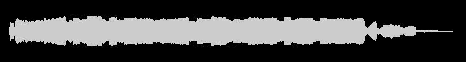 シンセサイザー 金属オルガン01の未再生の波形
