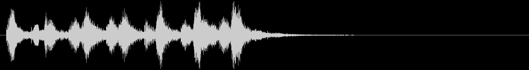 のほほんジングル038_コミカル+3の未再生の波形