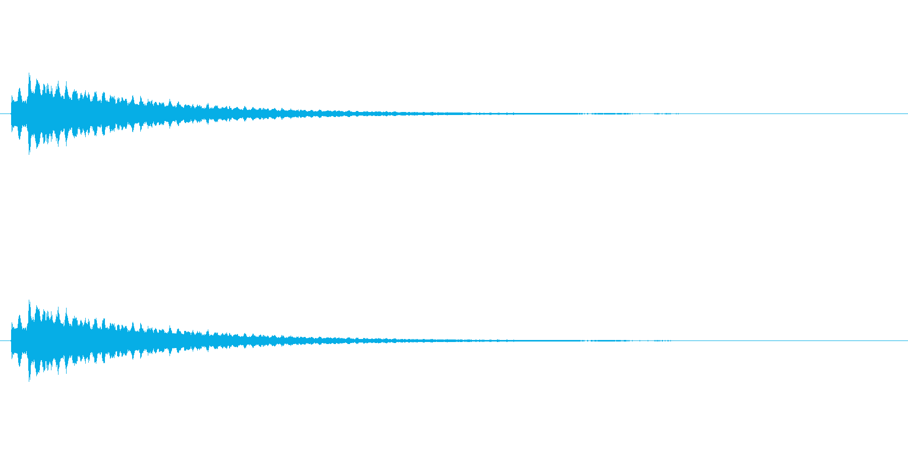 コイン、アイテム獲得 かわいいシンセ音の再生済みの波形