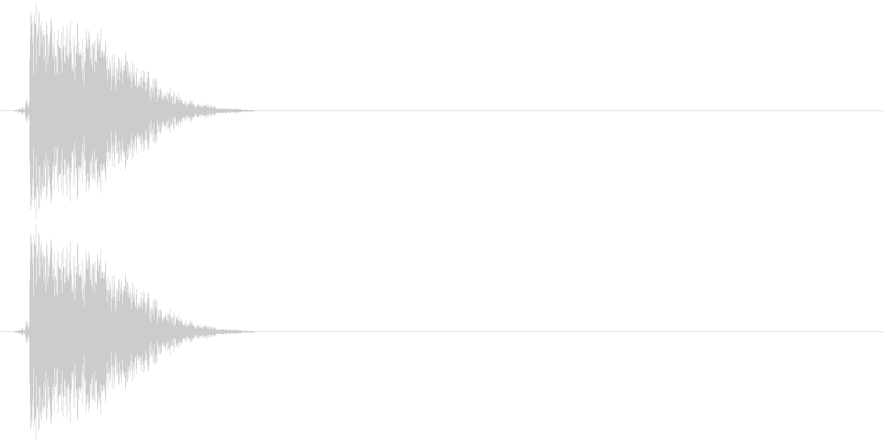ハードフェイススラップ;ヴィンテー...の未再生の波形