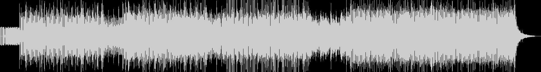 気持ちよく聴けることを重視したEDMの未再生の波形