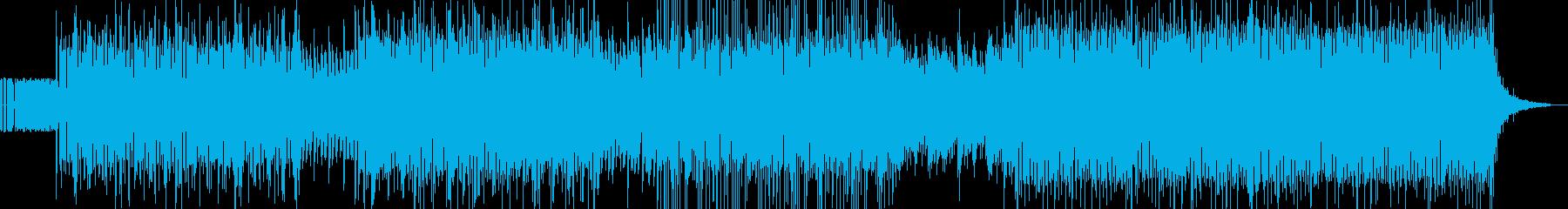 気持ちよく聴けることを重視したEDMの再生済みの波形