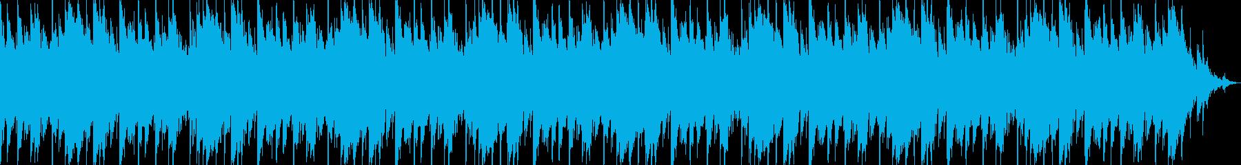 Aギターの癒し系ヒーリングサウンドの再生済みの波形