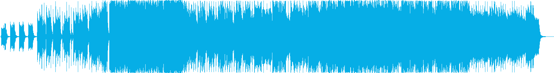 癒し系女性ボーカルポップスの再生済みの波形