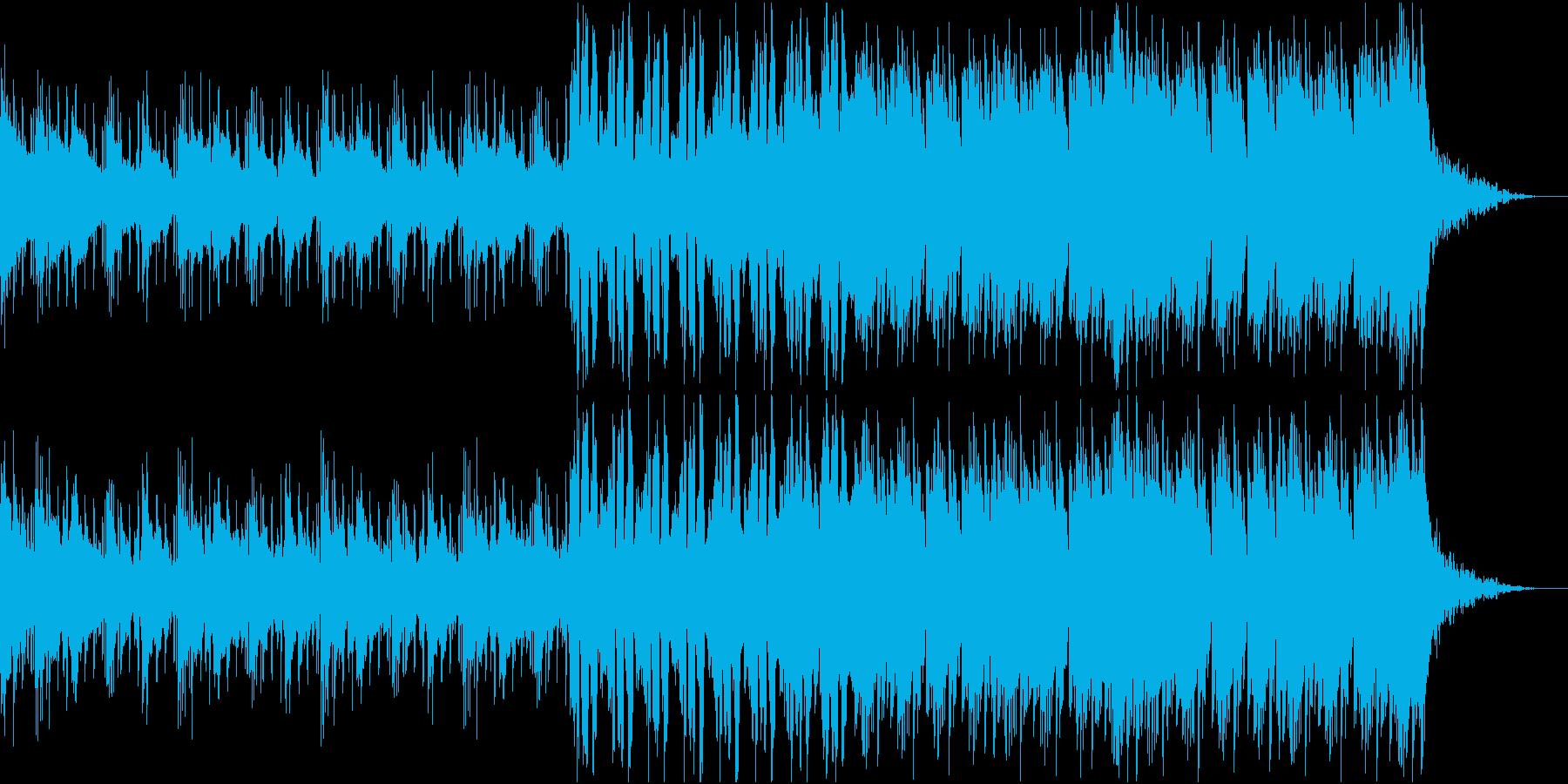 軽快なfutureHouseの再生済みの波形
