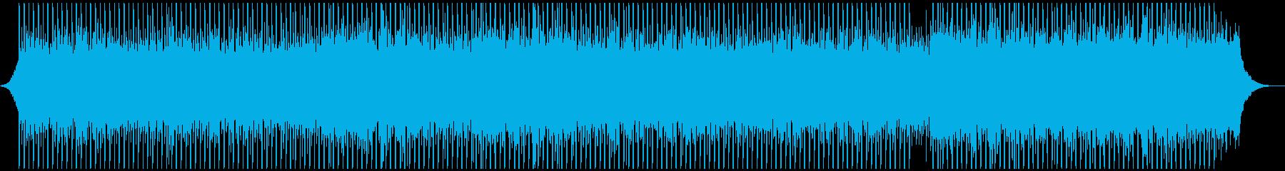 マーケティングビデオの再生済みの波形