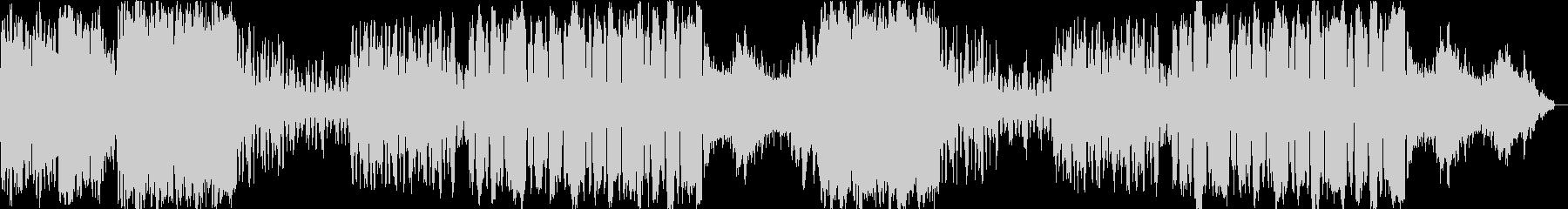 ケルト系 派手目のケルト音楽の未再生の波形
