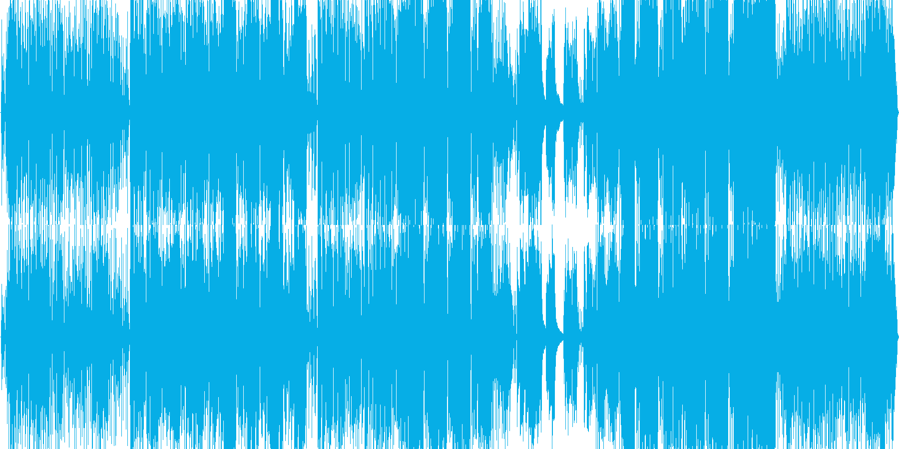 サックスが美しい青春キラーチューンの再生済みの波形