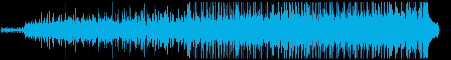 クラシックギターとピアノで切ない雰囲気をの再生済みの波形