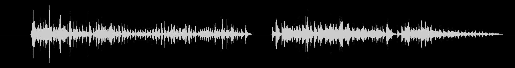 モンスター 窒息ゾンビ08の未再生の波形